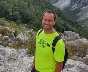 Tom in Slowenien im Triglav Nationalpark