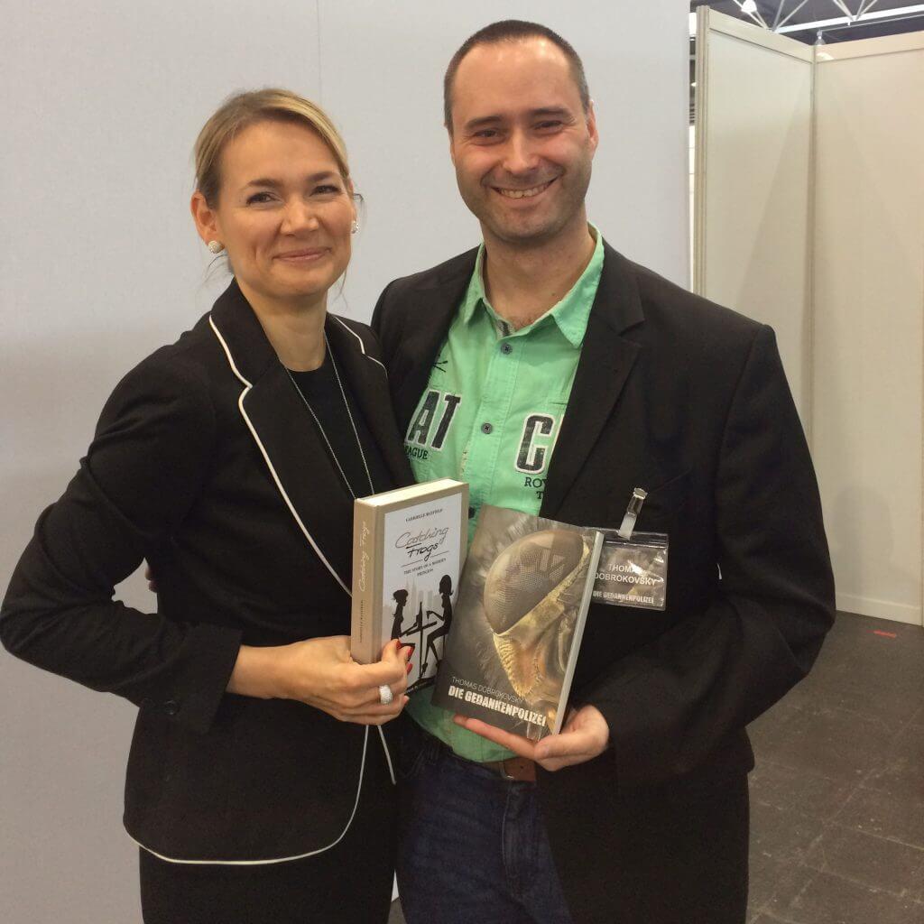 Gabrielle Mayfield und Thomas Dobrokovsky