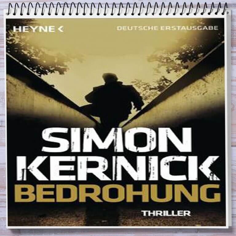 Cover: Simon Kernick Bedrohung