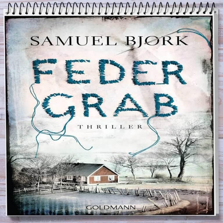 Cover: Federgrab von Samuel Bjork