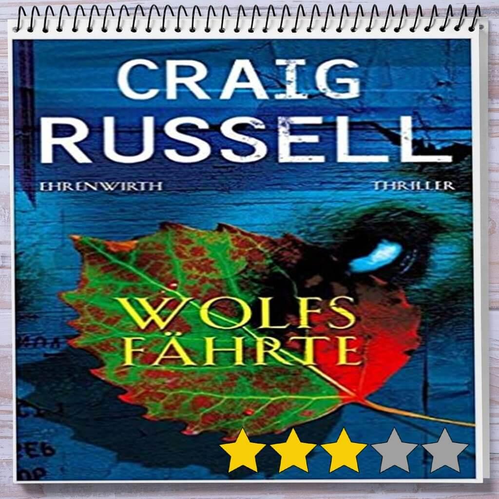 Cover: Wolfsfährte von Craig Russell