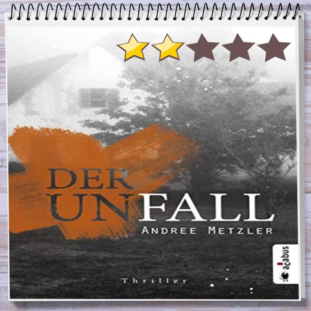 Cover: Der Unfall: Thriller von Andree Metzler